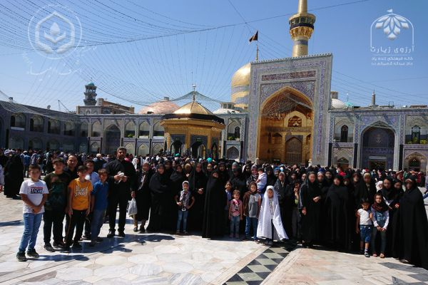 Ashraf Al-Anbia (G) Charity sent 800 orphans and the deprived and vulnerable groups of Tehran, Hormozgan, Khuzestan , Fars and Kohkiluyeh and Boyerahmad to the holy city of Mashhad
