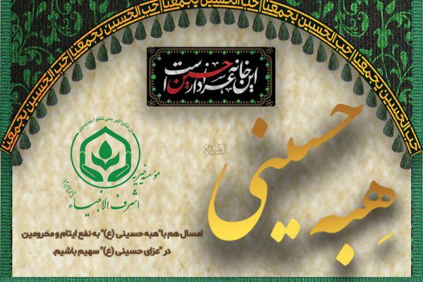 هبه حسینی (ع) به نفع ایتام و محرومین