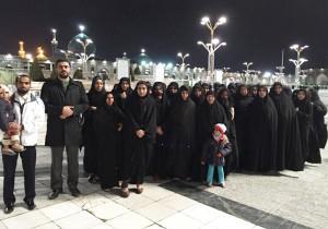 اعزام 80 نفر (2 کاروان)  از خانواده های ایتام به مشهد مقدس در سال 1393 - موسسه خیریه اشرف الانبیاء (ص)