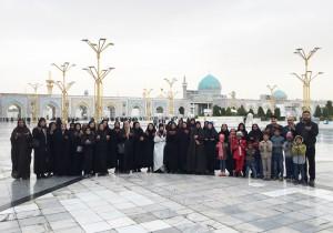 اعزام 900 نفر (22 کاروان)  از خانواده های ایتام به مشهد مقدس در سال 1396 - موسسه خیریه اشرف الانبیاء (ص)