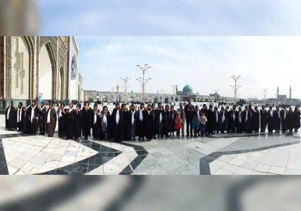 اعزام 500 نفر (12 کاروان)  از خانواده های ایتام به مشهد مقدس در سال 1394 - موسسه خیریه اشرف الانبیاء (ص)